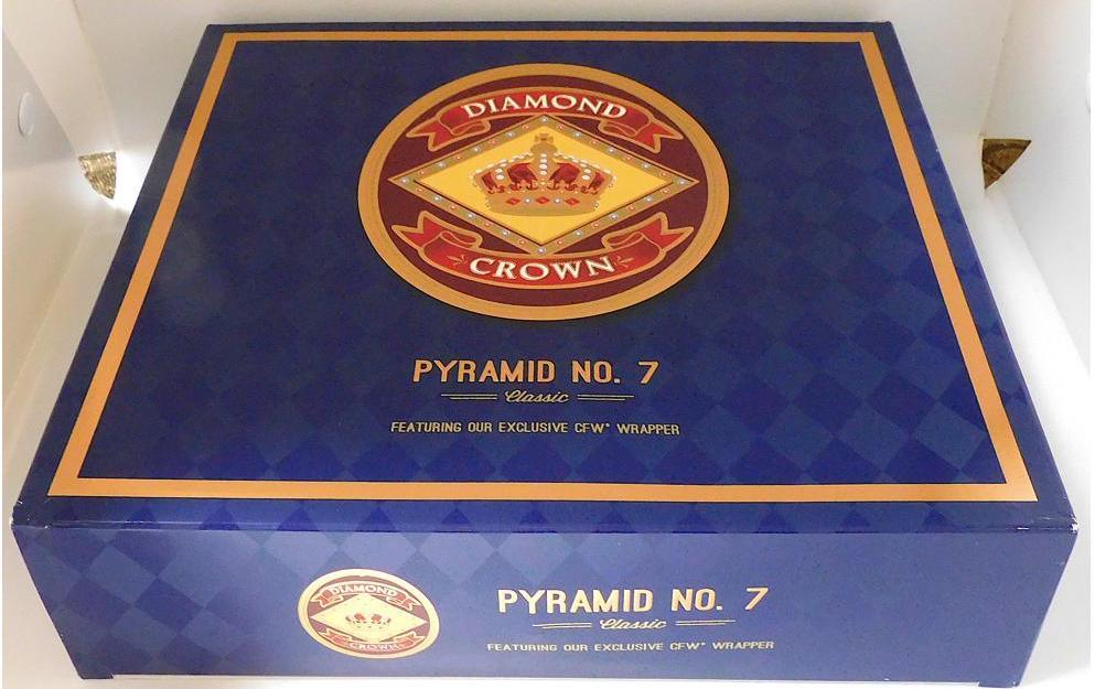 Diamond Crown Pyramid No 7 Outer Box