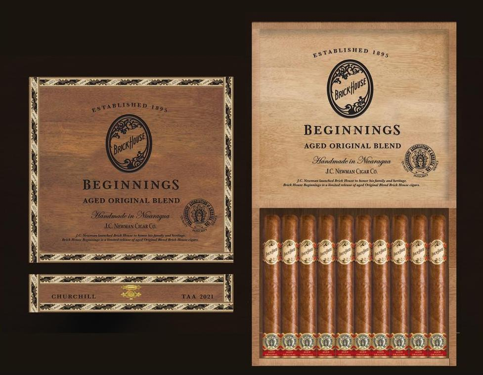 Cigar News: J.C. Newman to Release Brick House Beginnings as 2021 TAA Exclusive