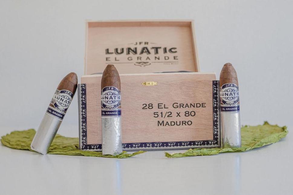 Cigar News: JFR Lunatic El Grande Maduro to Debut Through PCA Product Hub