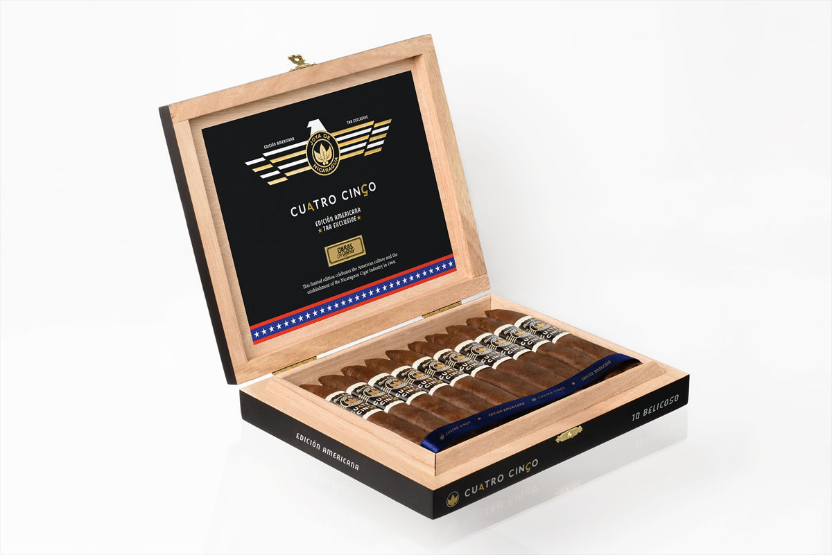 Cigar News: Joya de Nicaragua Cuatro Cinco Edición Americana TAA Exclusive Heads to Retailers