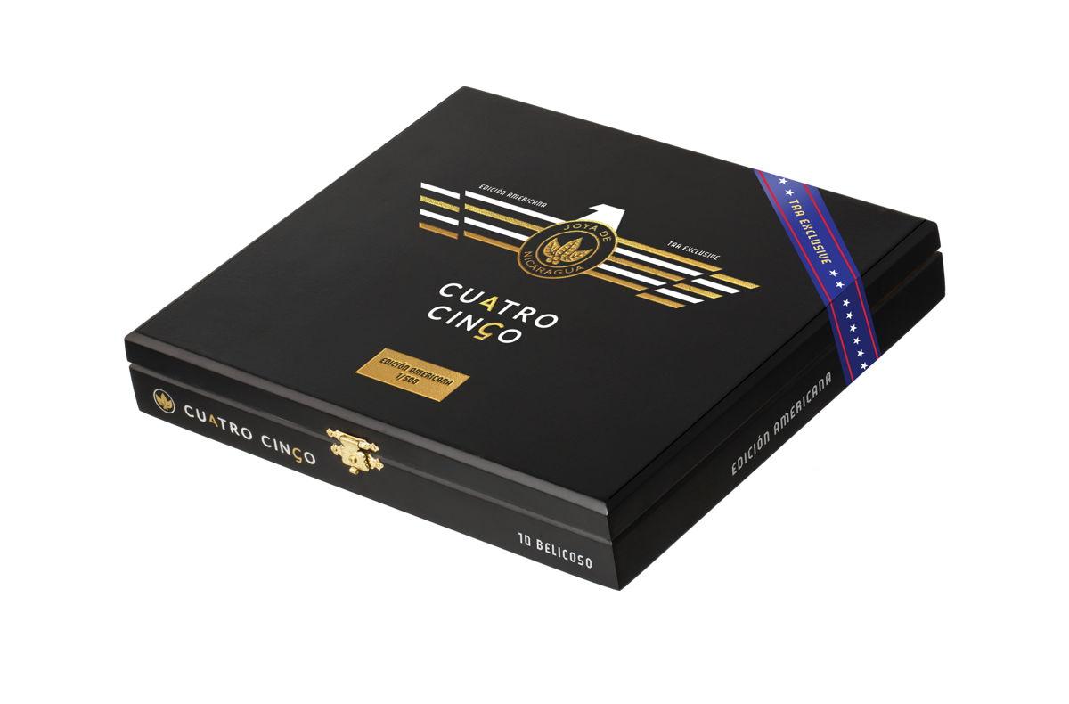 Cigar News: Joya de Nicaragua Cuatro Cinco Edición Americana TAA Exclusive Announced