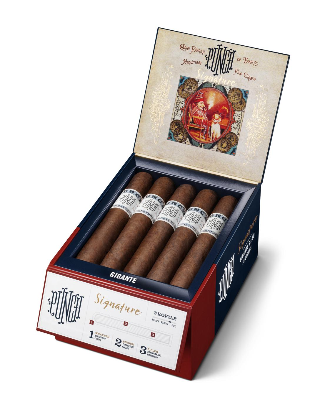 Cigar News: General Cigar Introducing Revamped Packaging for Punch Signature