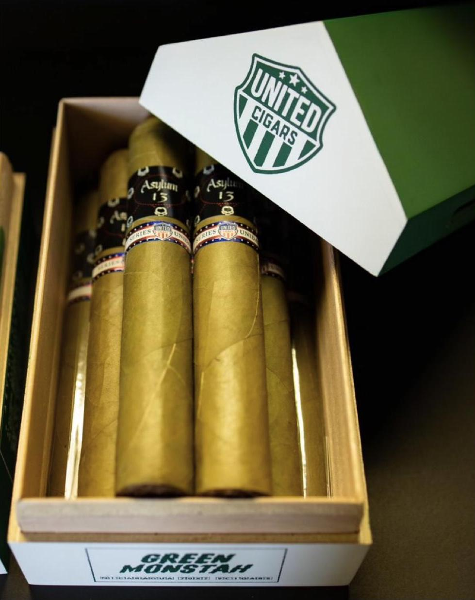 Cigar News: United Cigars and Asylum Cigars Team Up for Green Monstah Series Unidas Release