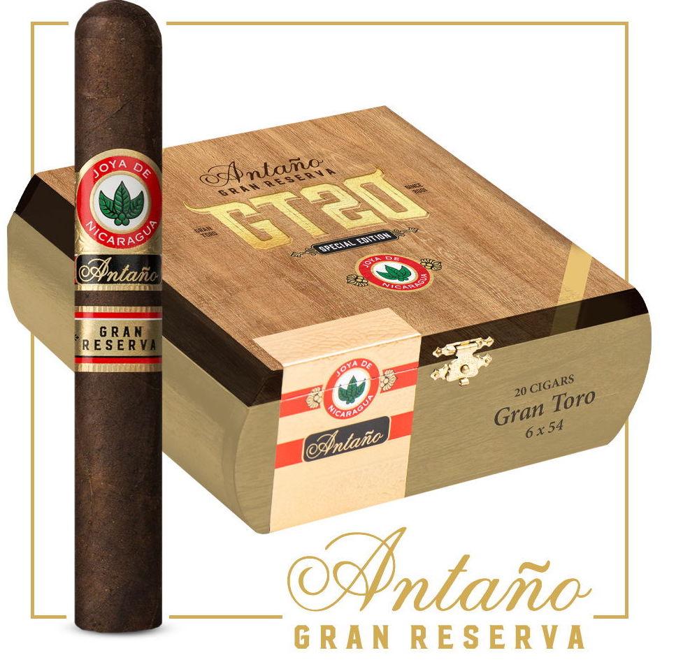 Cigar News: Joya de Nicaragua Antaño Gran Reserva GT20 Heads to Retailers