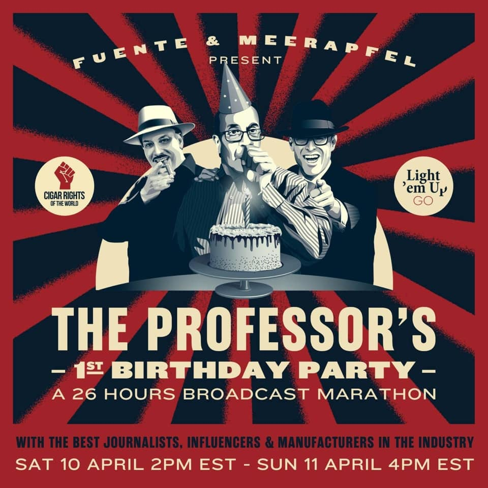 The Blog: Fuente & Meerapfel Present Meet the Professor – One Year Anniversary Marathon: Coop Hosts Hours 9 & 10