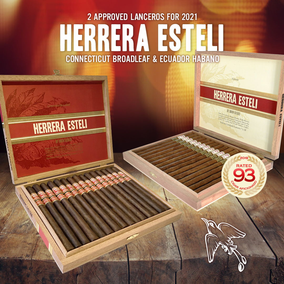 Cigar News: Drew Estate Brings Back Limited Edition Herrera Estelí Lanceros for 2021