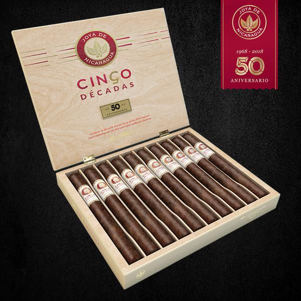 Cigar News: Joya de Nicaragua Announces Cinco Décadas Release for 2021