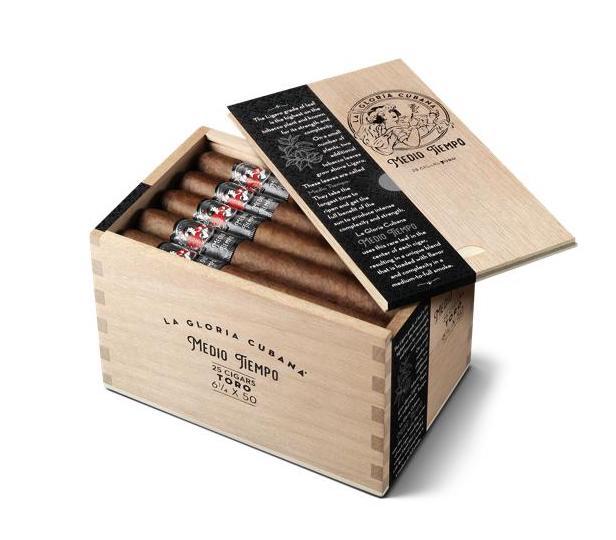Cigar News: La Gloria Cubana Medio Tiempo Coming in May
