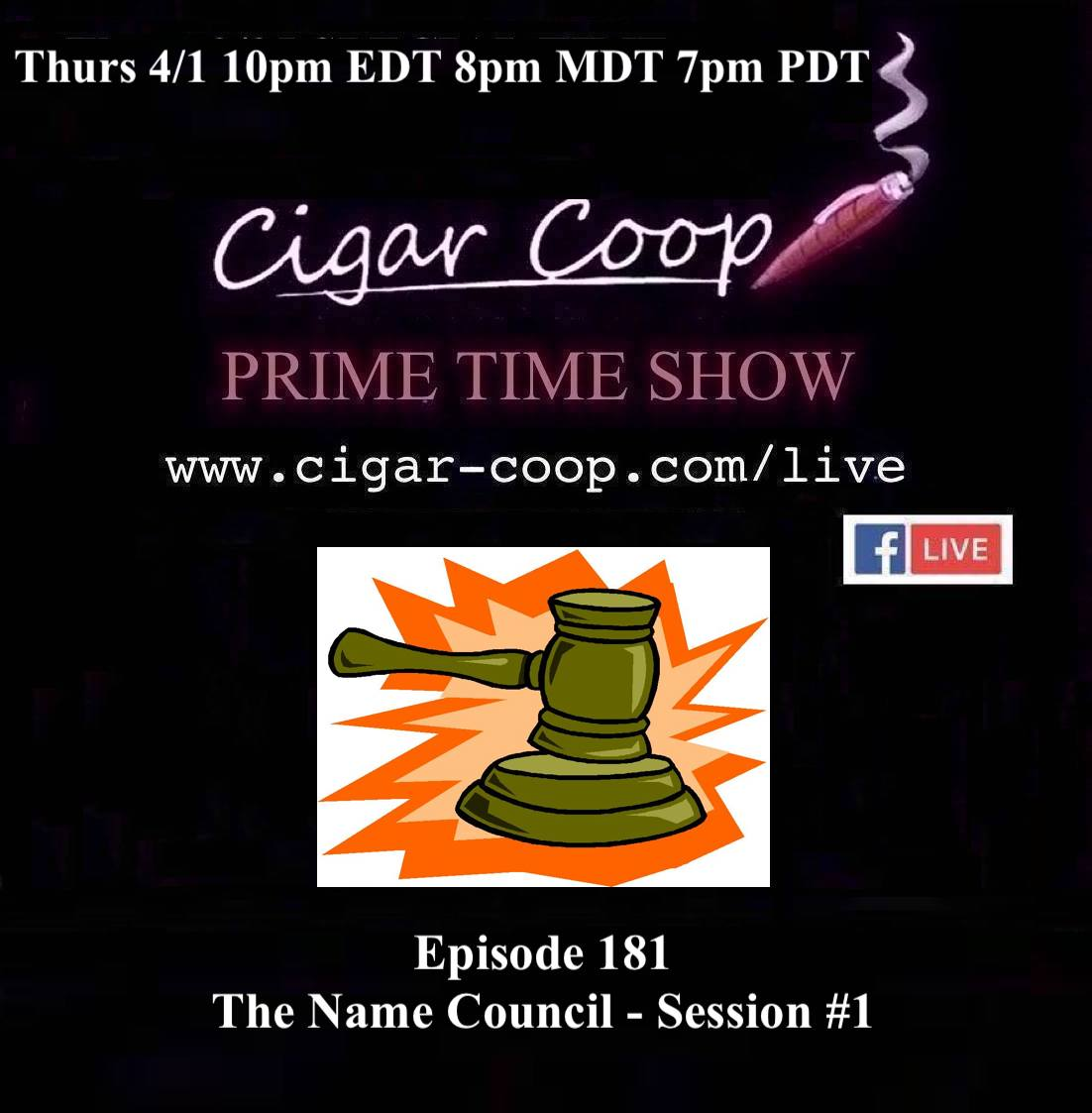 Announcement: Prime Time Episode 181 – The Name Council: Session #1