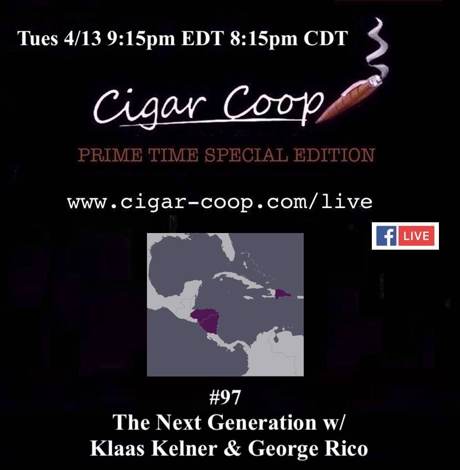 Announcement: Prime Time Special Edition 97 – The Next Generation w/ Klaas Kelner & George Rico