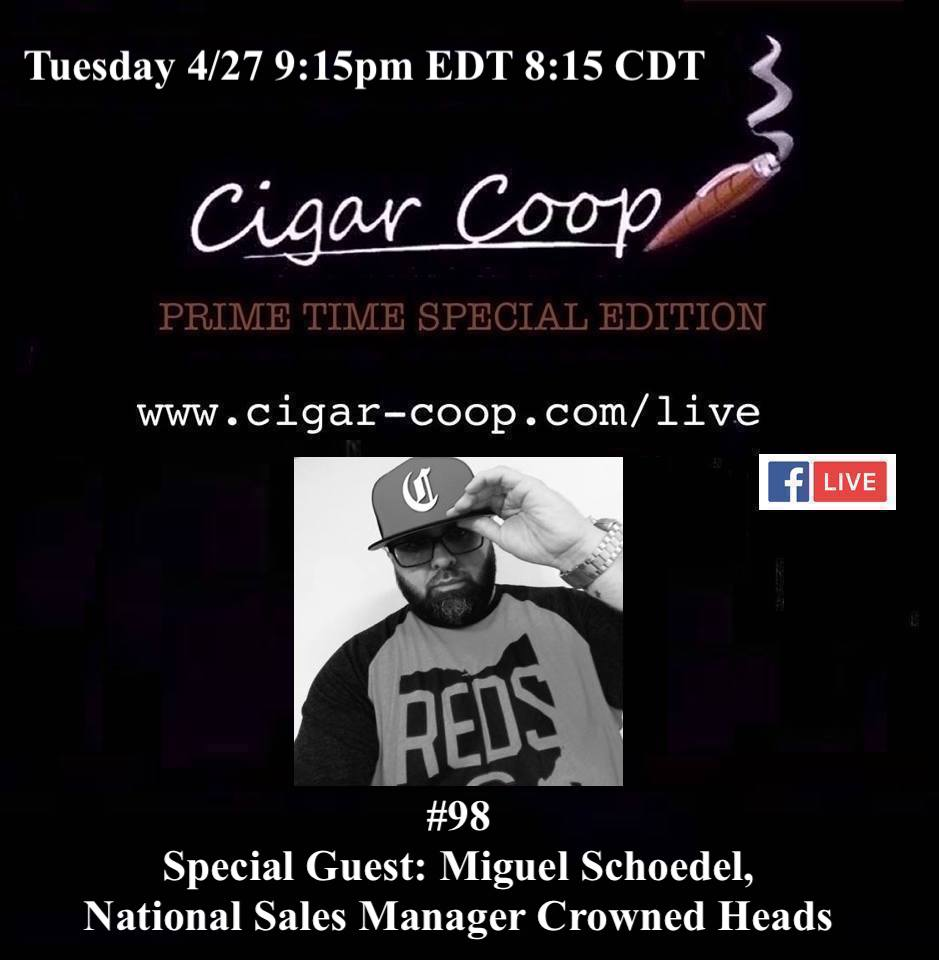Announcement: Prime Time Special Edition 98: Miguel Schoedel, Crowned Heads