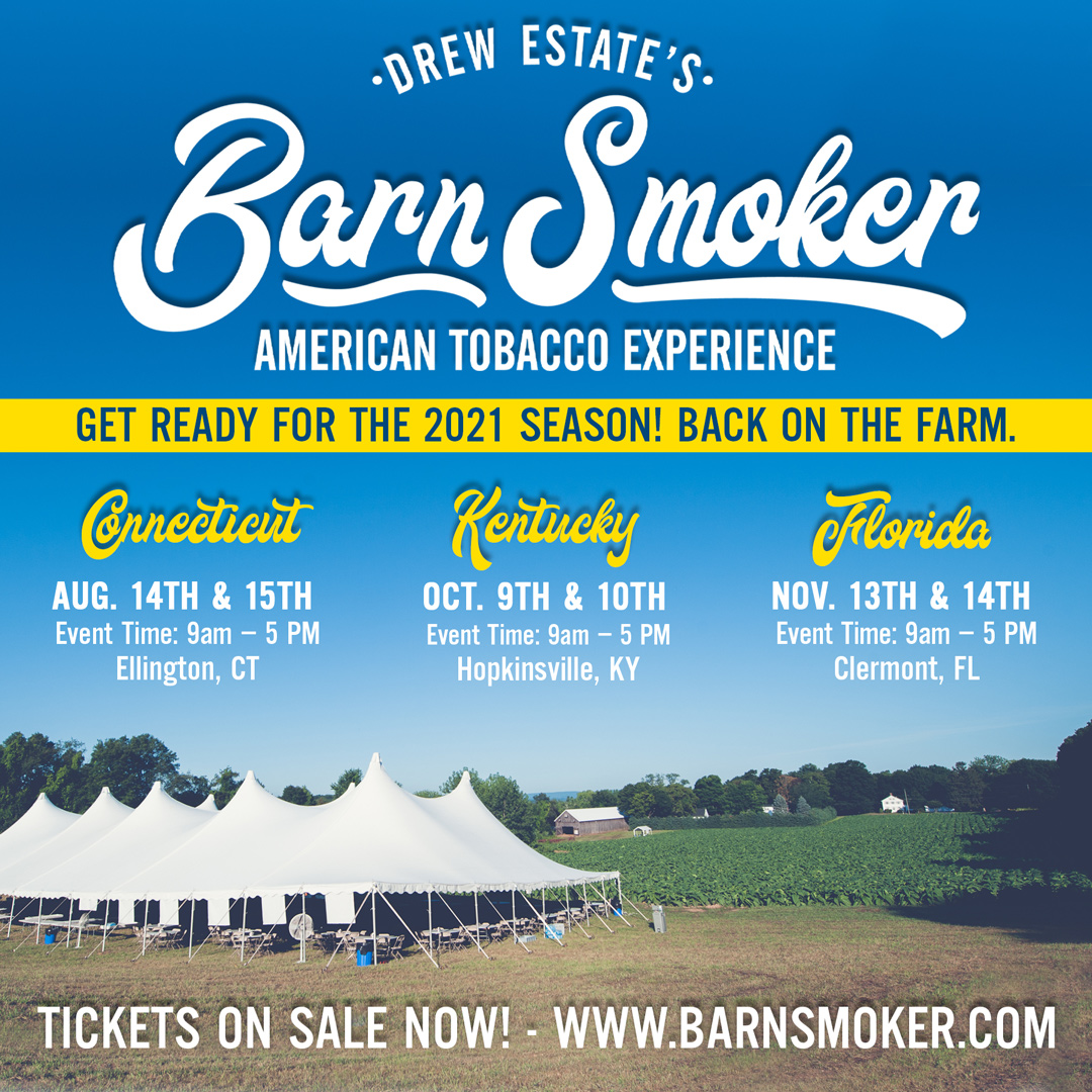 Cigar News: Drew Estate Resumes Barn Smoker Events Beginning in August