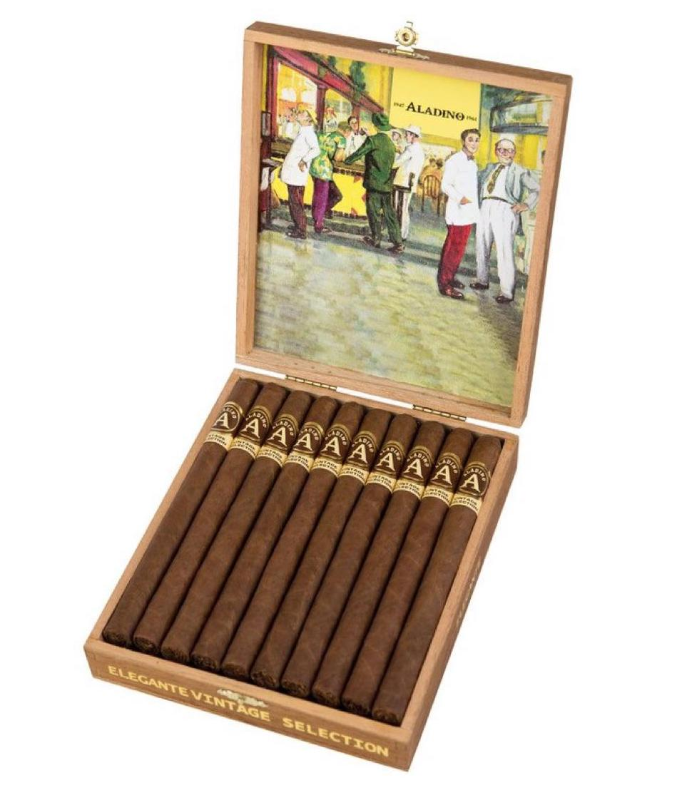 Cigar News: JRE Tobacco Co Adding Two Sizes to Aladino Vintage Selection Line