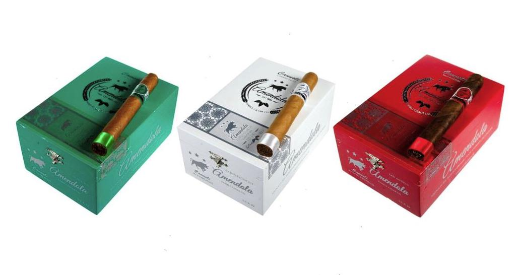 Cigar News: Amendola Family Cigar Company Launches Signature Series Cannoli Green and Cannoli White