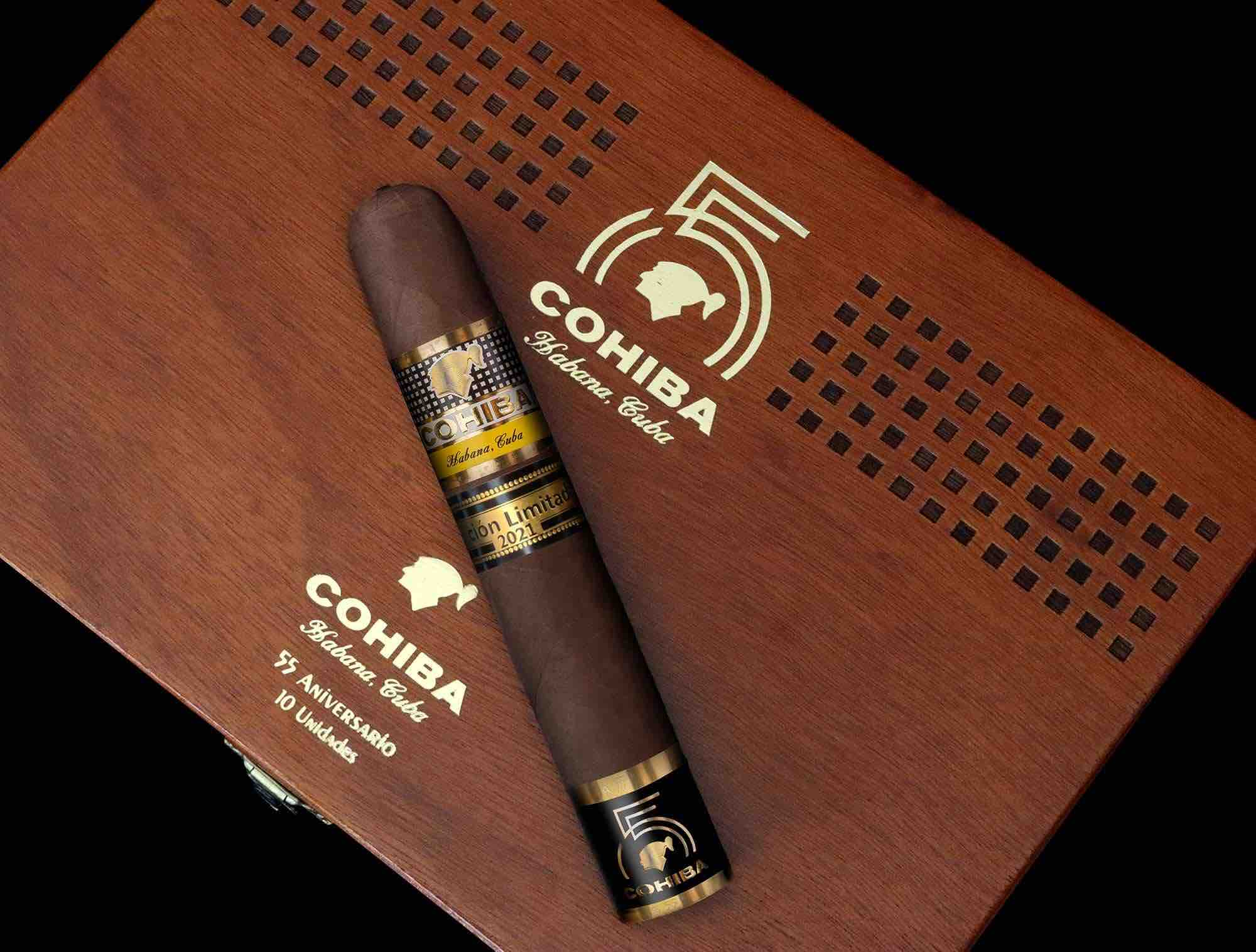 Cigar News: Cohiba 55 Aniversario Launched at Habanos Virtual Days