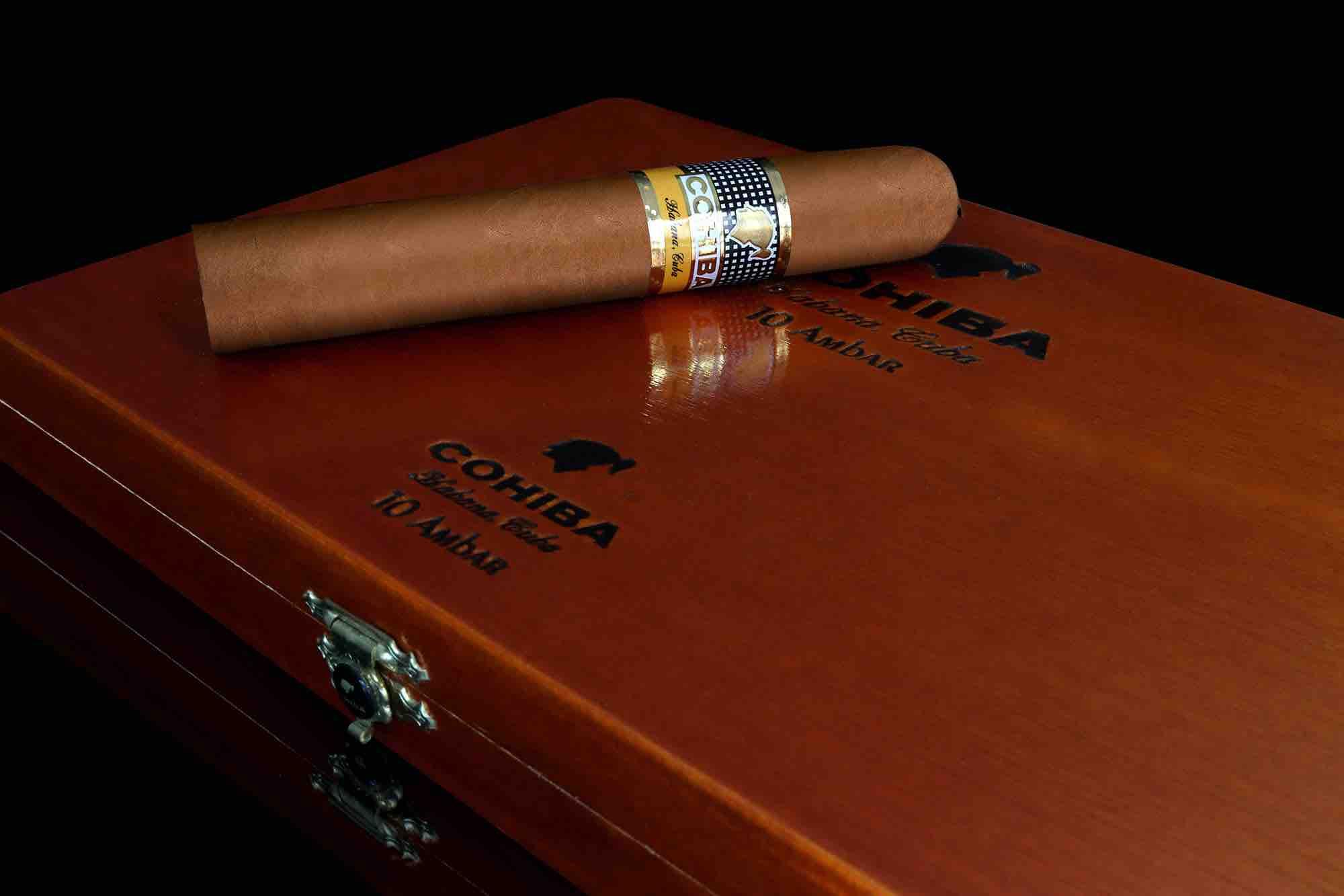 Cigar News: Cohiba Ambar Introduced at Habanos World Days