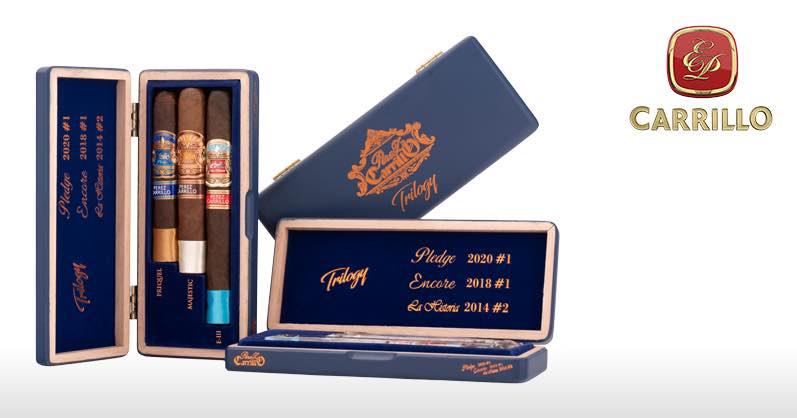 Cigar News: E.P. Carrillo Releases Trilogy Sampler