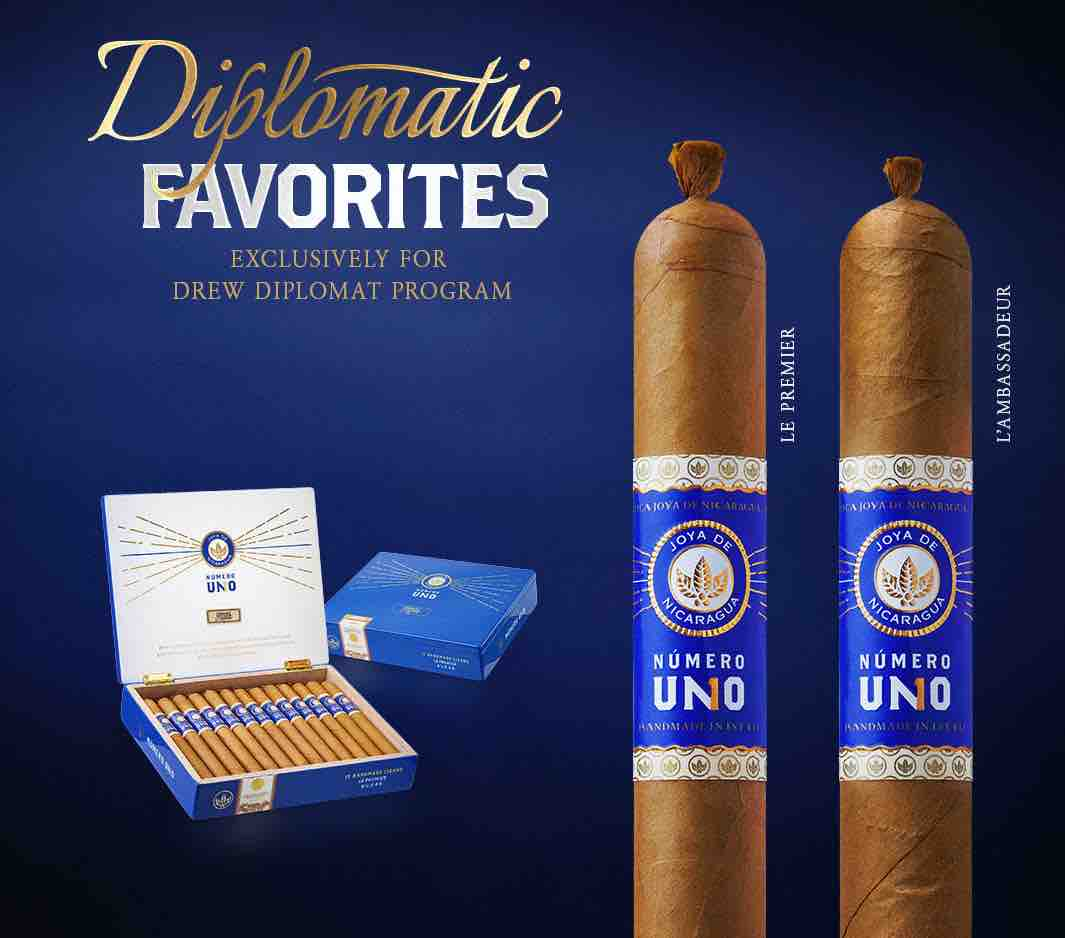 Cigar News: Joya de Nicaragua Numero Uno L'Ambassadeur and Le Premier Return for 2021