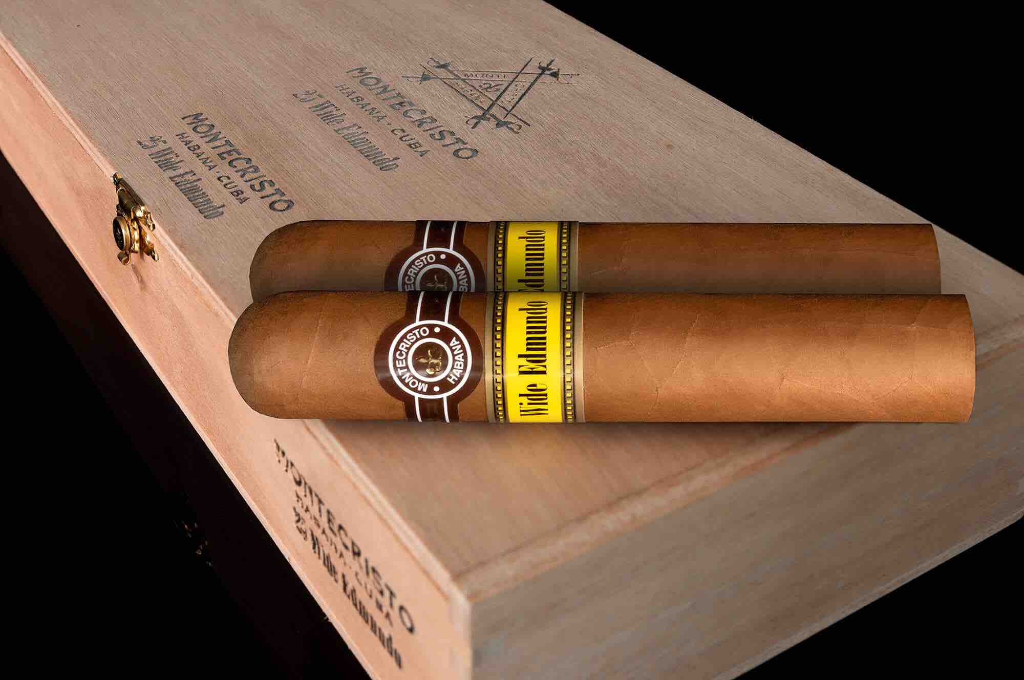 Cigar News: Montecristo Wide Edmundo Introduced at 2021 Habanos Virtual Days