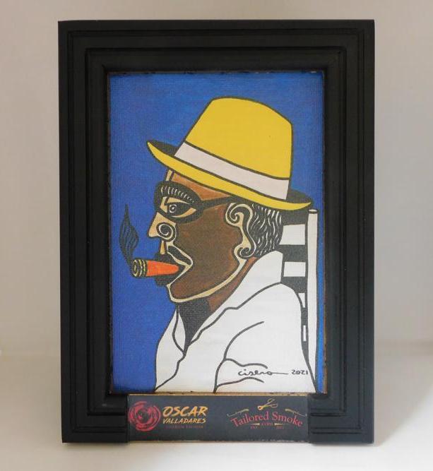 Oscar Valladares Ciseron Edition Tailored Smoke Preston Gray