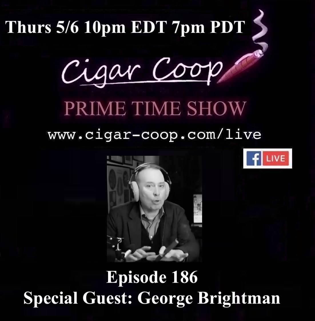 Announcement: Prime Time Episode 186 – George Brightman