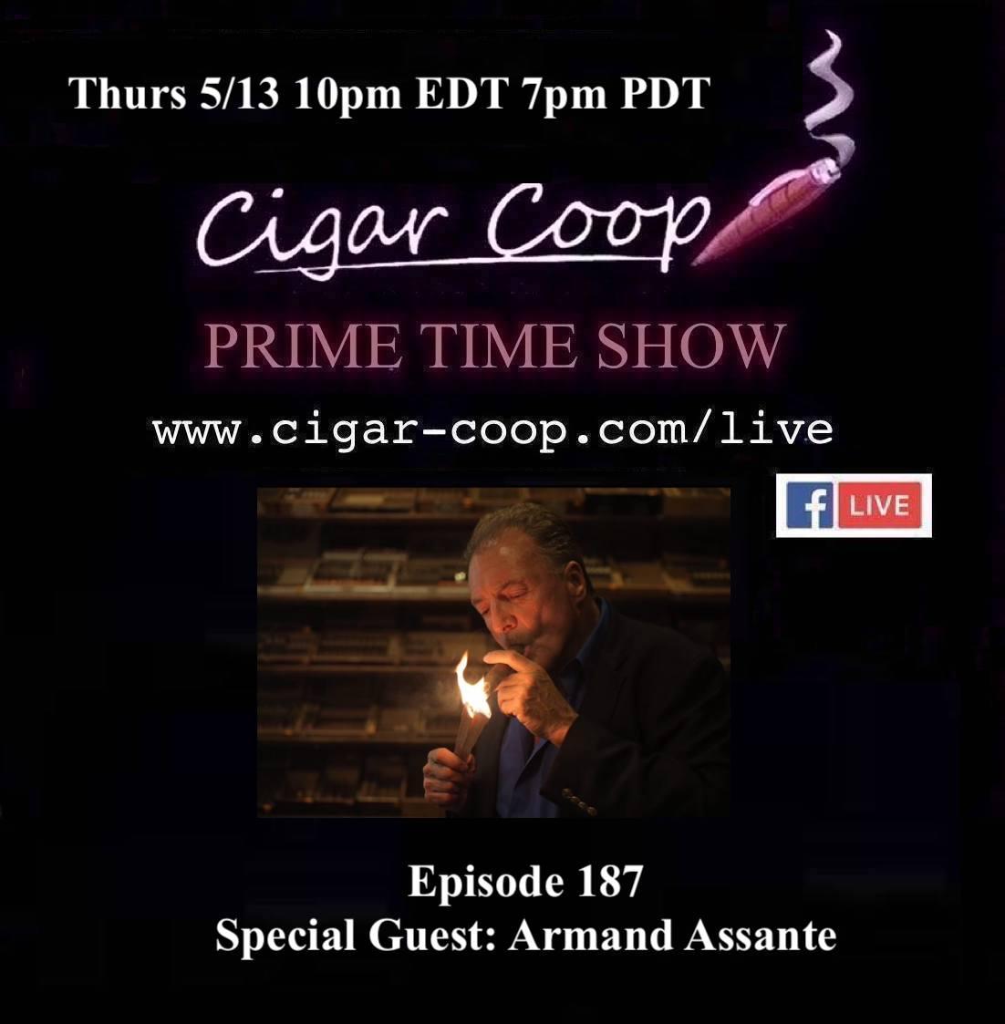 Announcement: Prime Time Episode 187 – Armand Assante