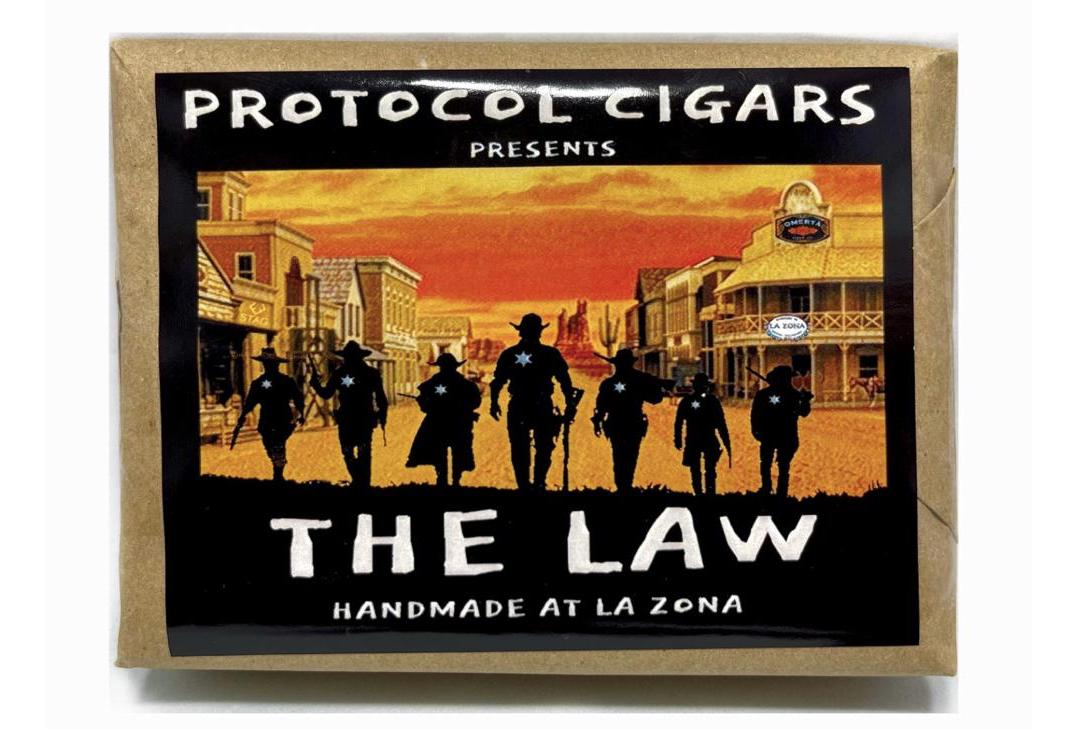 Cigar News: Protocol The Law Announced as Shop Exclusive
