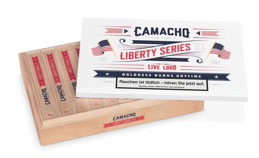 Cigar News: Camacho Liberty 2021 Announced