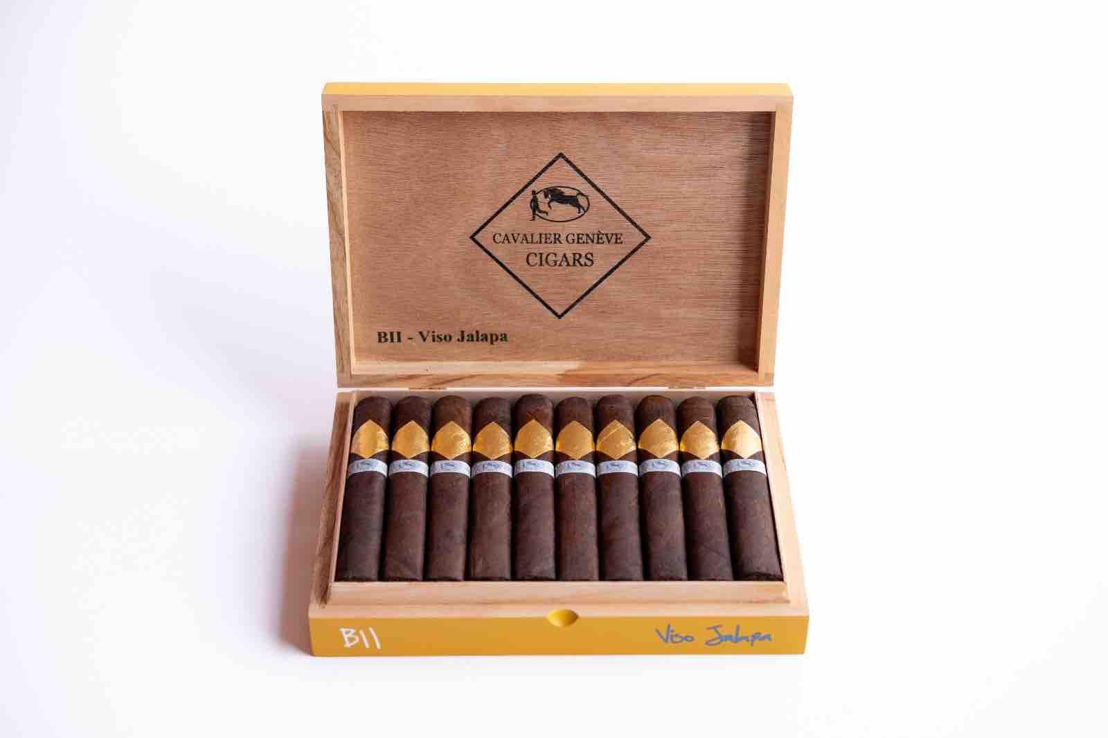 Cigar News: Cavalier Genève BII Viso Jalapa Announced