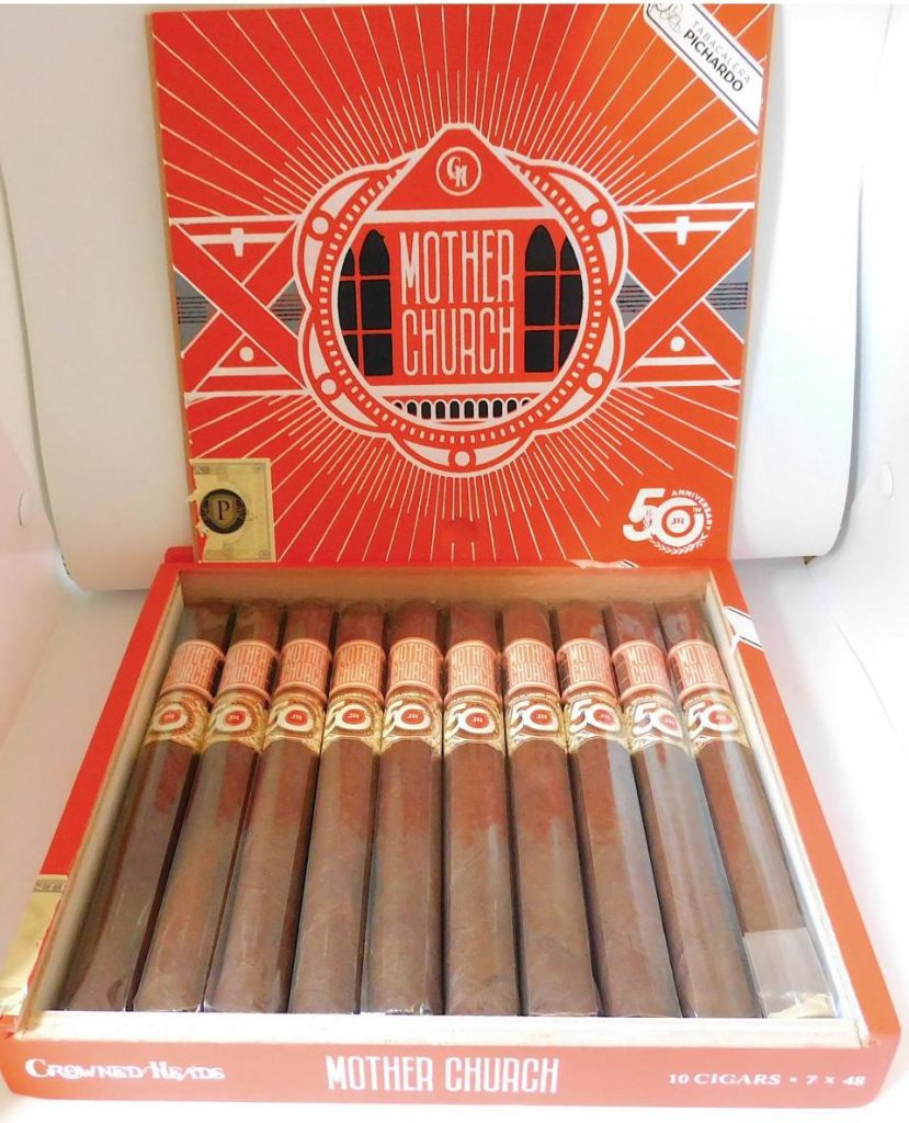 Crowned Heads Mother Churchll JR 50th-Open Box