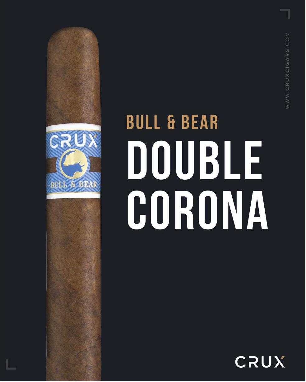 Cigar News: Crux Bull & Bear Double Corona to Launch at PCA 2021