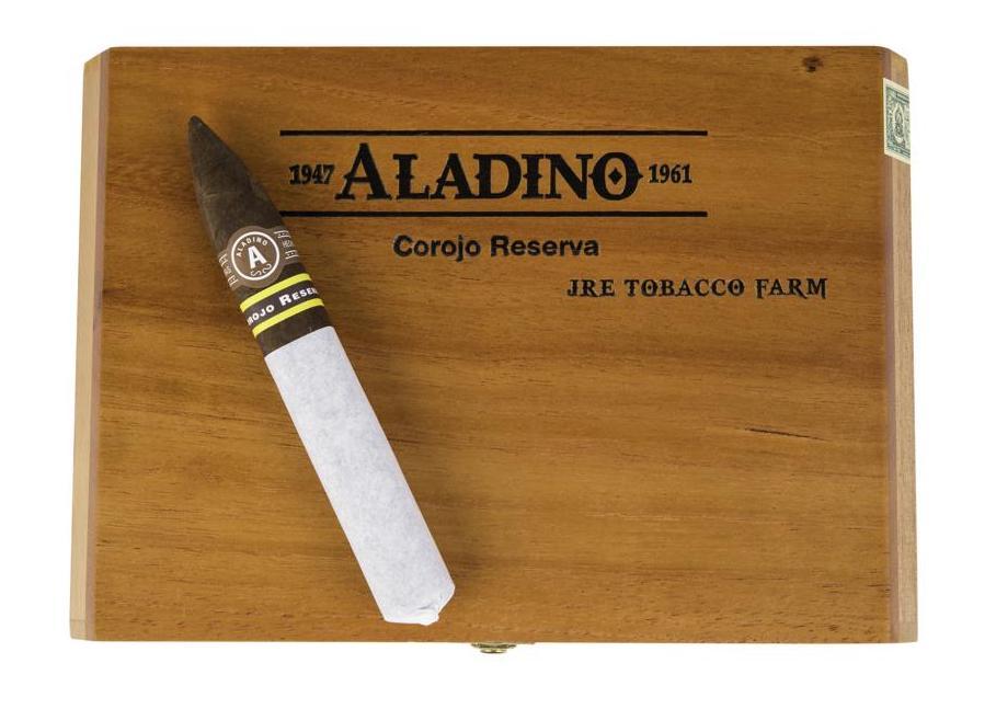 Cigar News: JRE Tobacco Co Adds Aladino Corojo Reserva Figurado