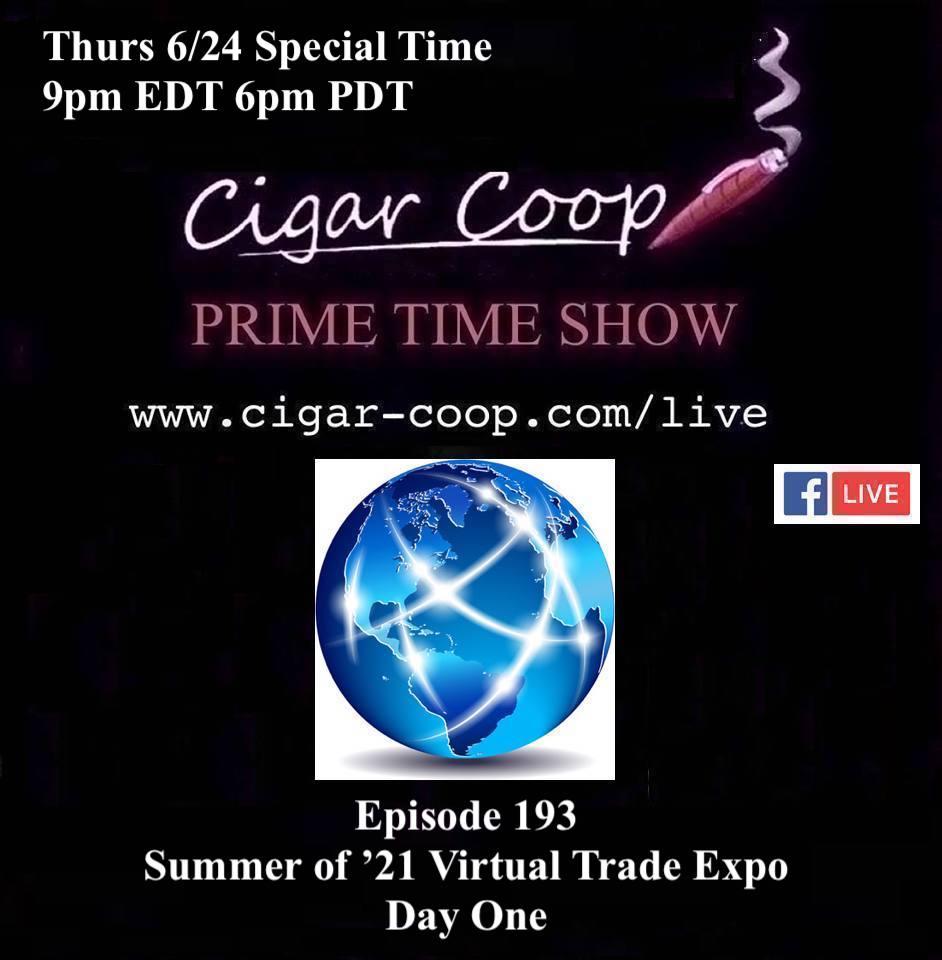 Announcement: Prime Time Episode 193 – Virtual Trade Expo Day One