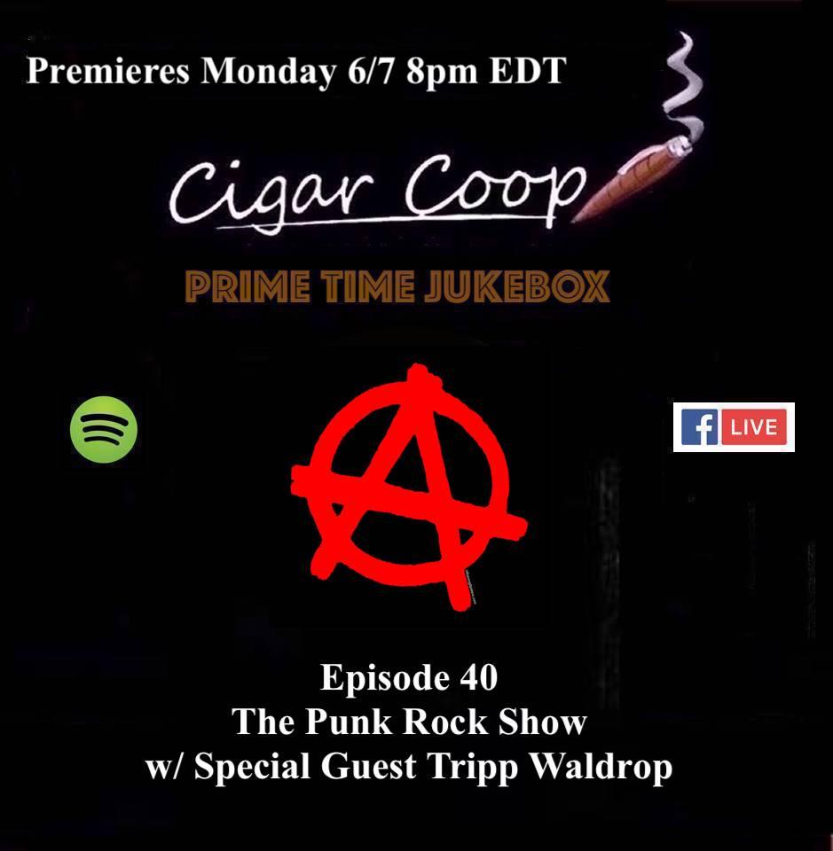 Announcement: Prime Time Jukebox Episode 40 – The Punk Rock Show