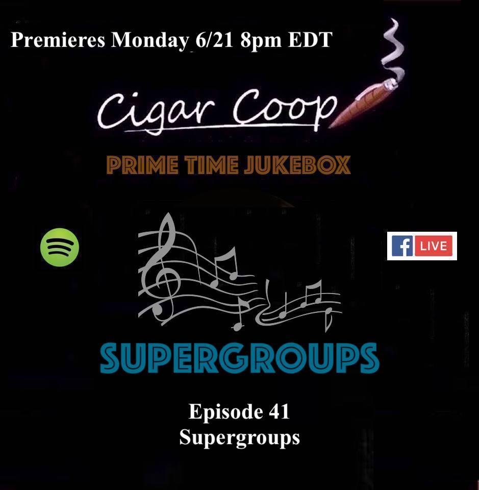 Announcement: Prime Time Jukebox Episode 41 – Supergroups