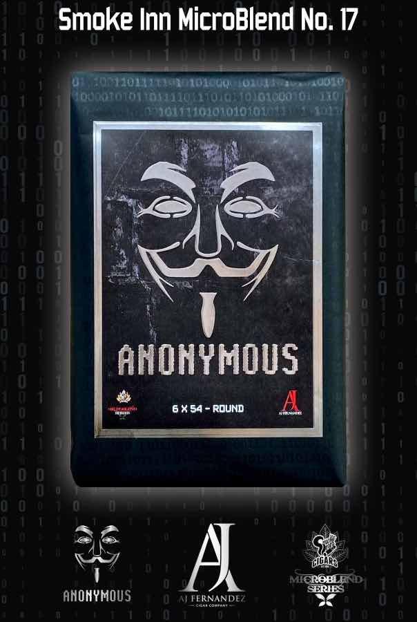 Cigar News: Anonymous by AJ Fernandez Announced as Latest Smoke Inn MicroBlend