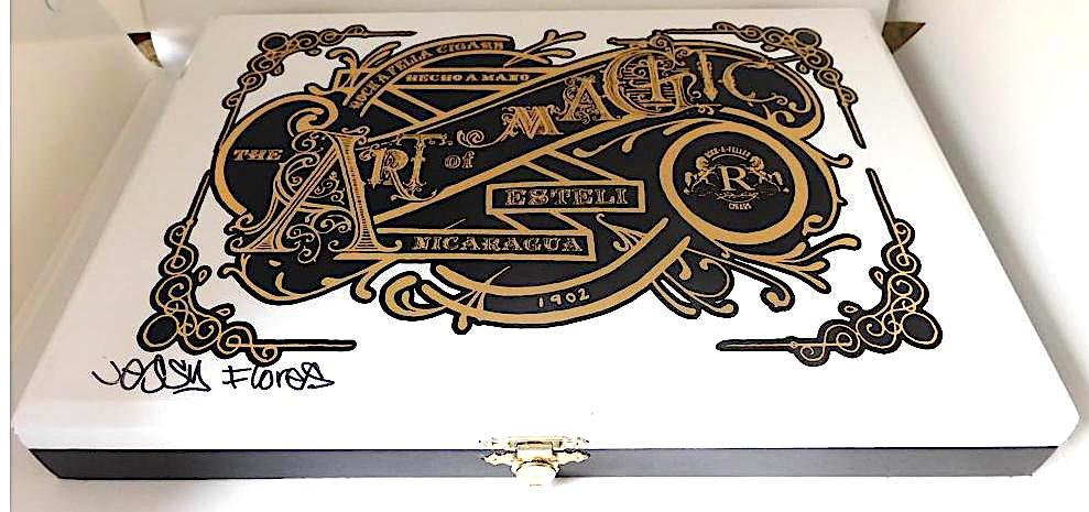 Vintage Rock-A-Feller Art of Magic Box