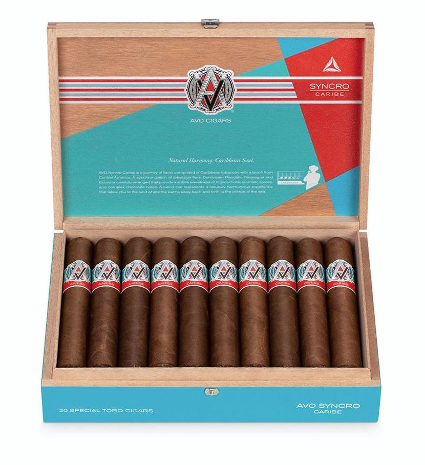 Cigar News: AVO Syncro Caribe Scheduled for August Release
