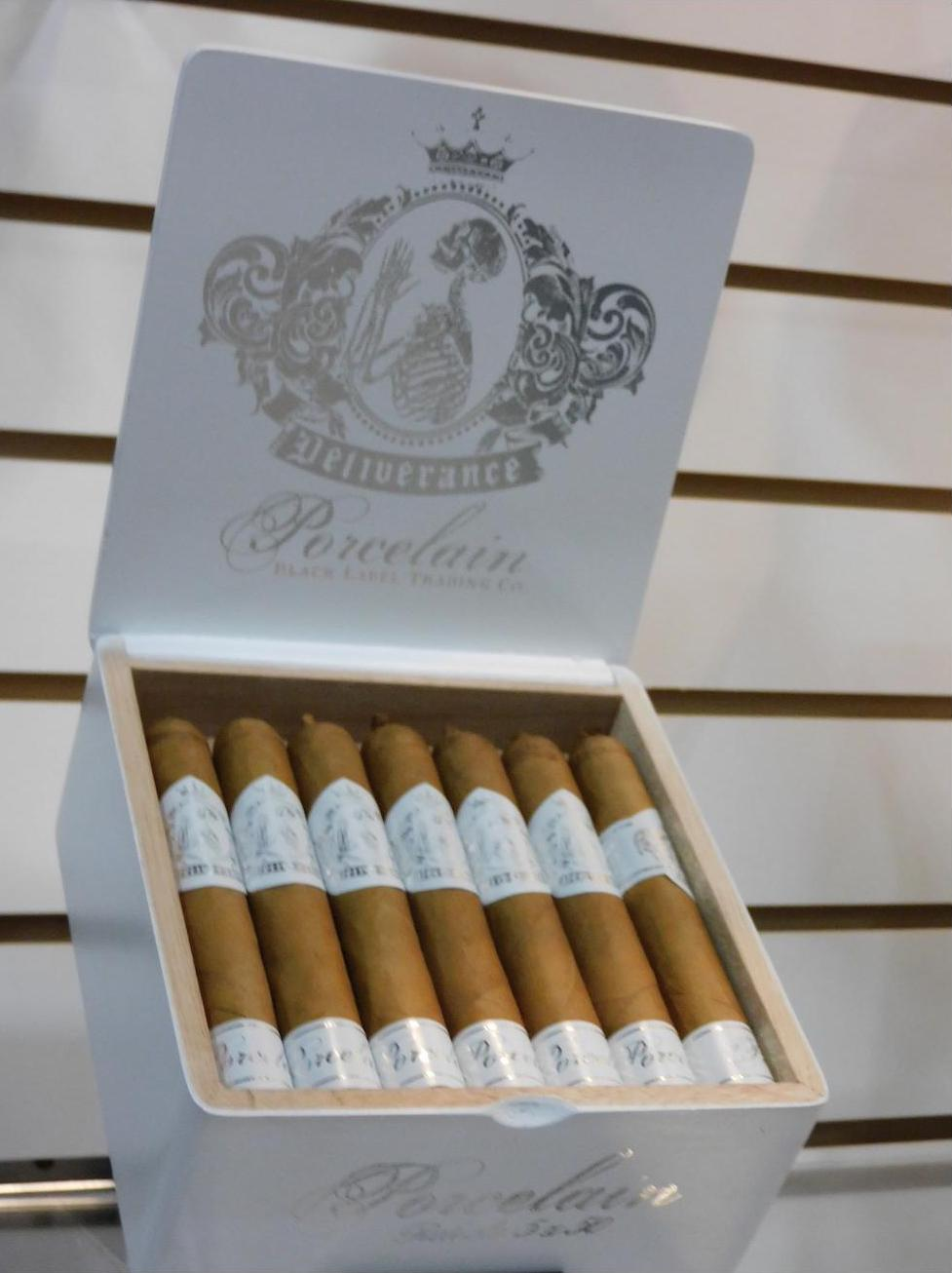 Cigar News: Oveja Negra Brands Launches Black Label Trading Company Deliverance Porcelain Robusto at 2021 PCA