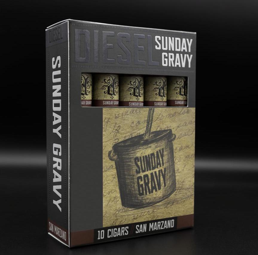 Cigar News: Diesel to Launch Sunday Gravy Collection