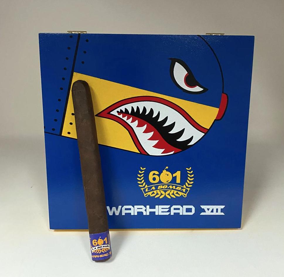 Cigar News: Espinosa Cigars to Launch 601 La Bomba Warhead VII at PCA 2021