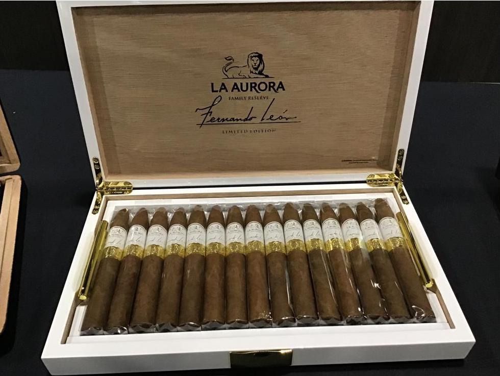 Cigar News: La Aurora Fernando León Edición Limitada Makes Debut at 2021 PCA