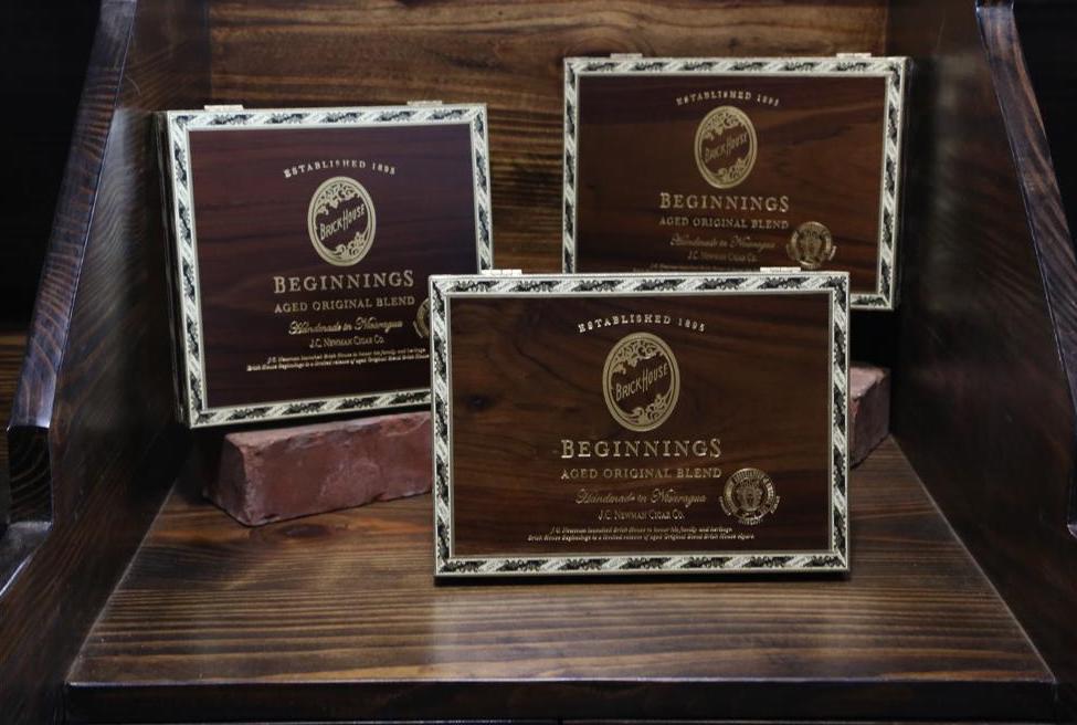 Cigar News JC Newman Ships Brick House Beginnings TAA Release