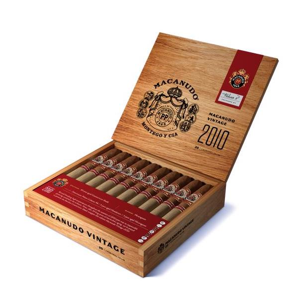 Cigar News: General Cigar Company Announces Macanudo Vintage 2010