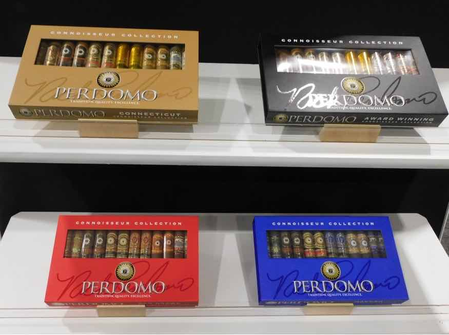 Cigar News: Perdomo Connoisseur Collection Introduced at 2021 PCA
