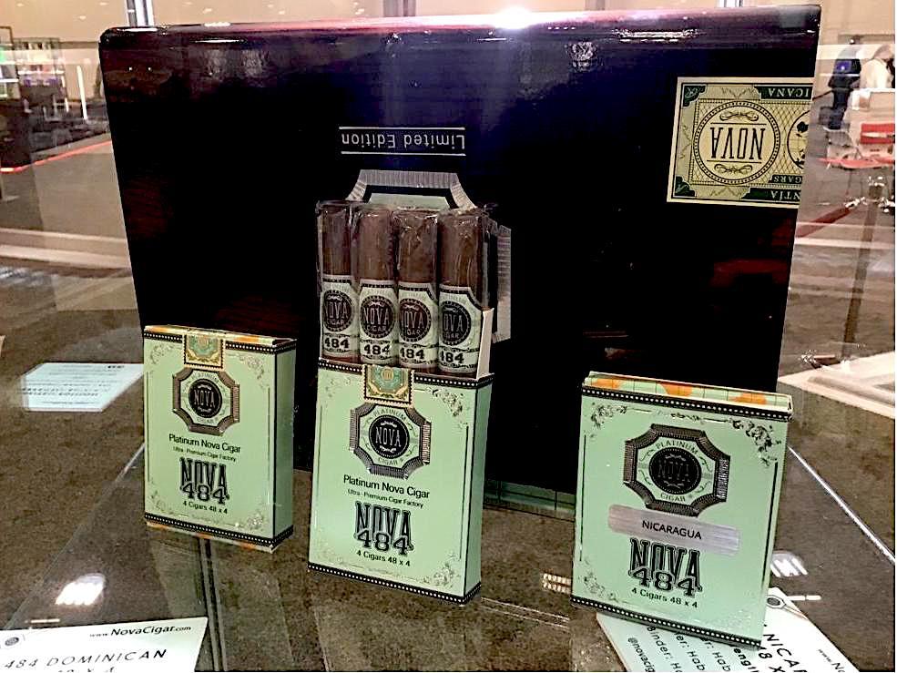 Cigar News: Platinum Nova 484 Showcased at 2021 PCA Trade Show
