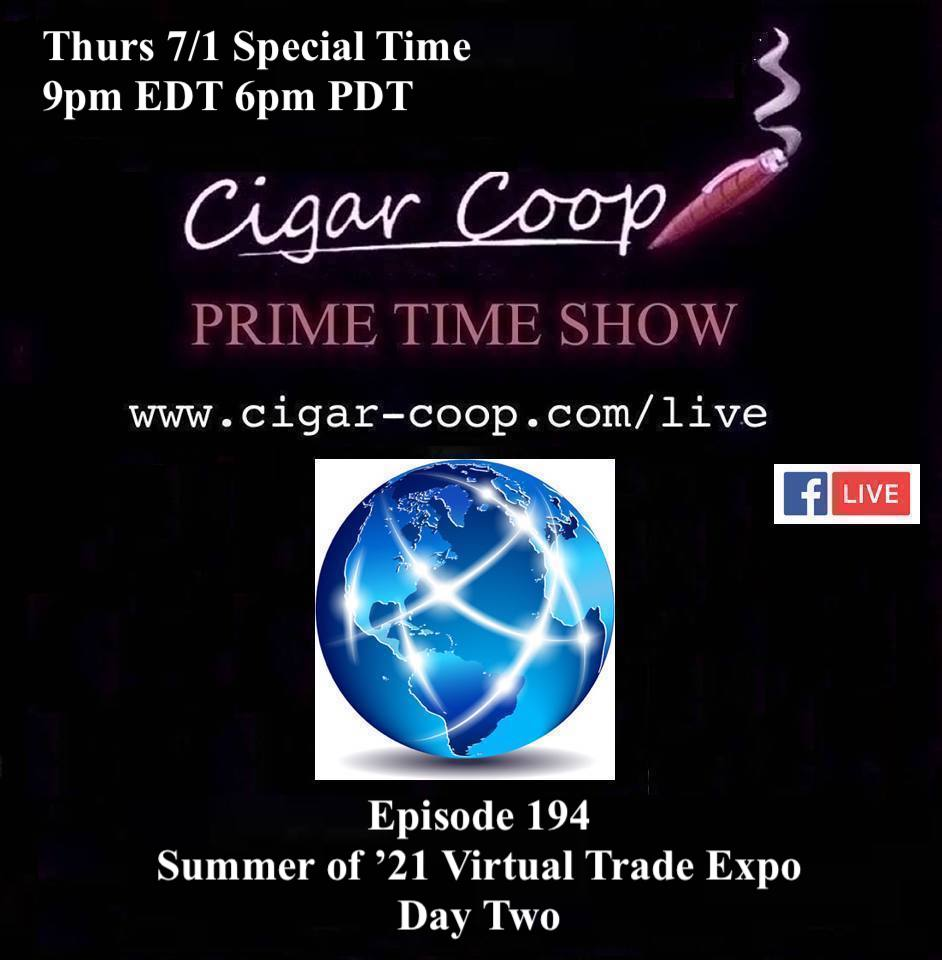 Announcement: Prime Time Episode 194 – Virtual Trade Expo Day Two