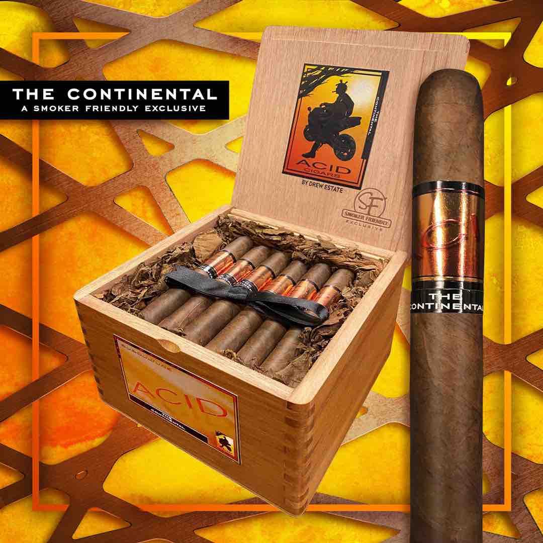 Cigar News: Drew Estate Announces ACID Subculture Continental