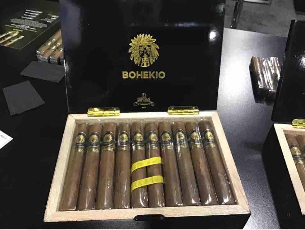 Cigar News: Supreme Tobacco Launches  Bohekio at 2021 PCA