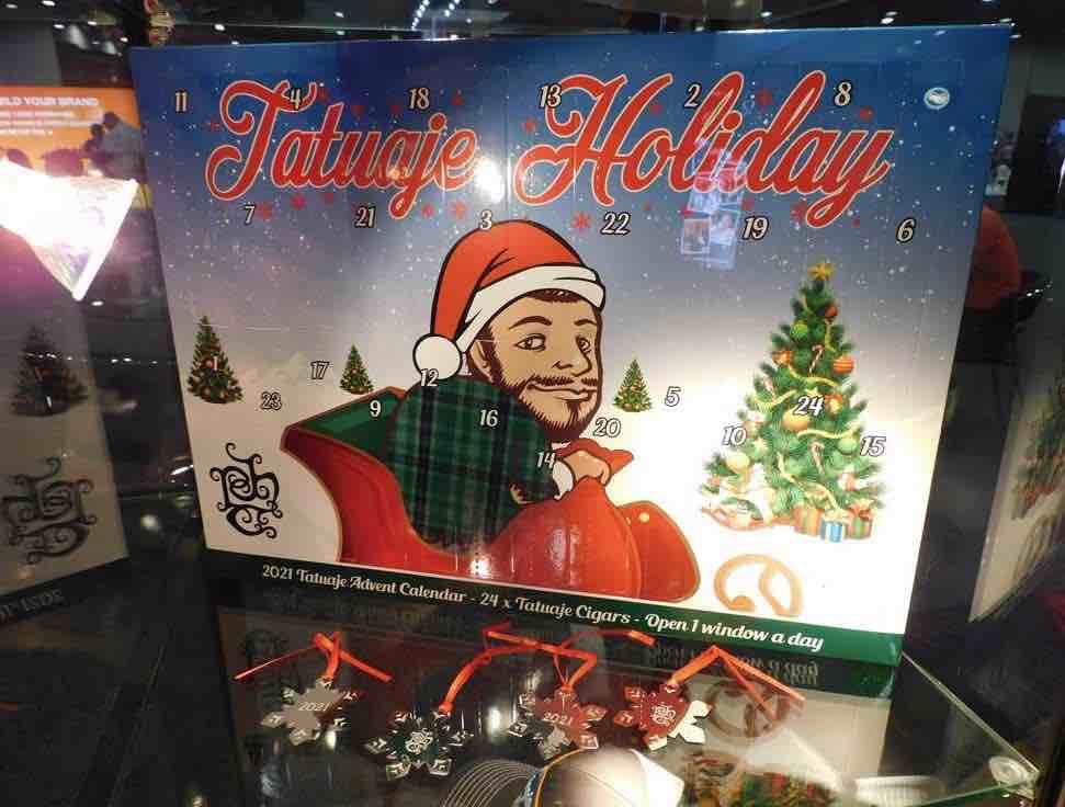 Cigar News: Tatuaje Holiday Advent Calendar Showcased at 2021 PCA Trade Show